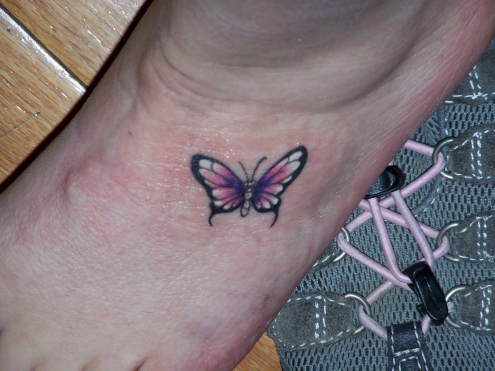 Butterfly star tattoo designs - Butterfly Star Tattoo Butterfly Ankle Tattoos Designs And Ideas