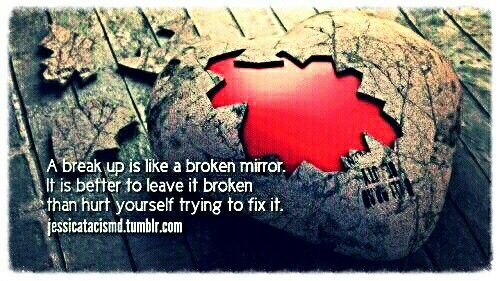 Broken heart.. Love quotes with images, Love quotes for