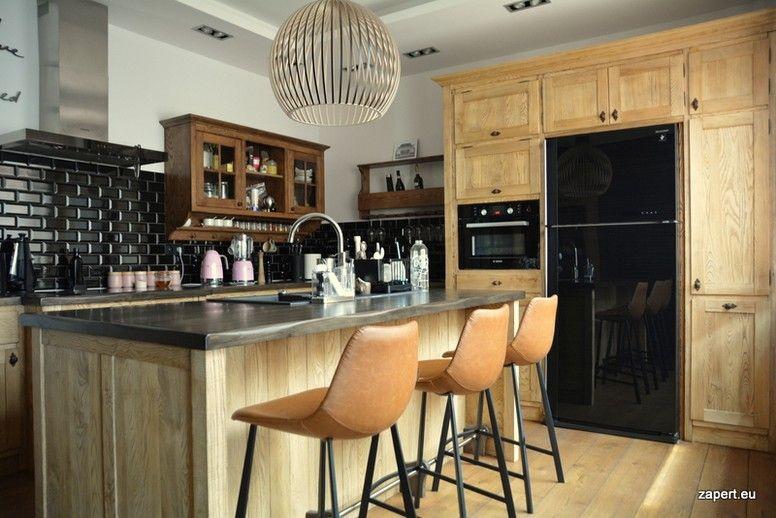 Rustykalna Kuchnia Jesionowa Z Wyspa Rustykalne Kuchnie I Stylowe Meble Drewniane Zapert Eu Furniture Home Decor Decor