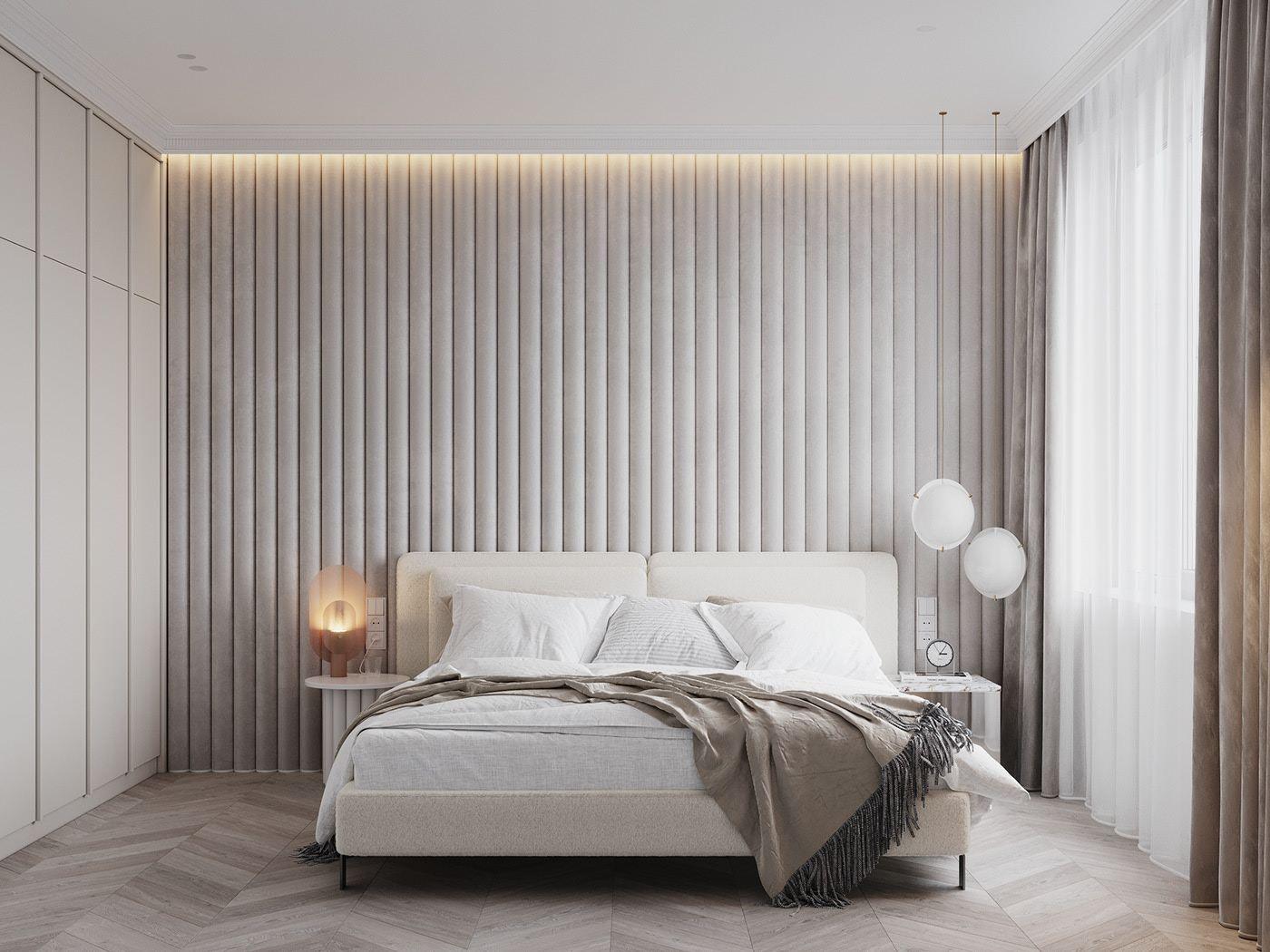 ACCENTS SPB AZ on Behance   Bedroom interior, Home room design ...