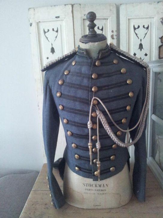 male stockman mooie kleur blauw/grijs!