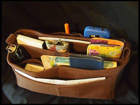 Felt Bag  Fits LV GM  No more messy purses  Purse organizer