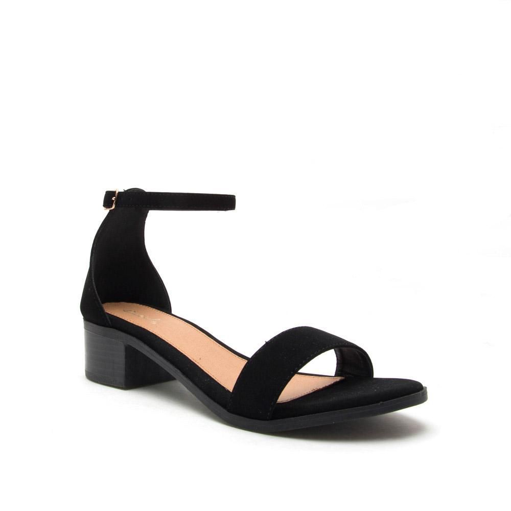 5212c2f5939c Alvarez-01 Black One Band Ankle Strap Sandal  27