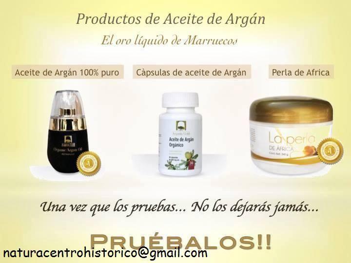 Si estas interesado en adquirir cualquiera de estos productos envia correo a: naturacentrohistorico@gmail.com