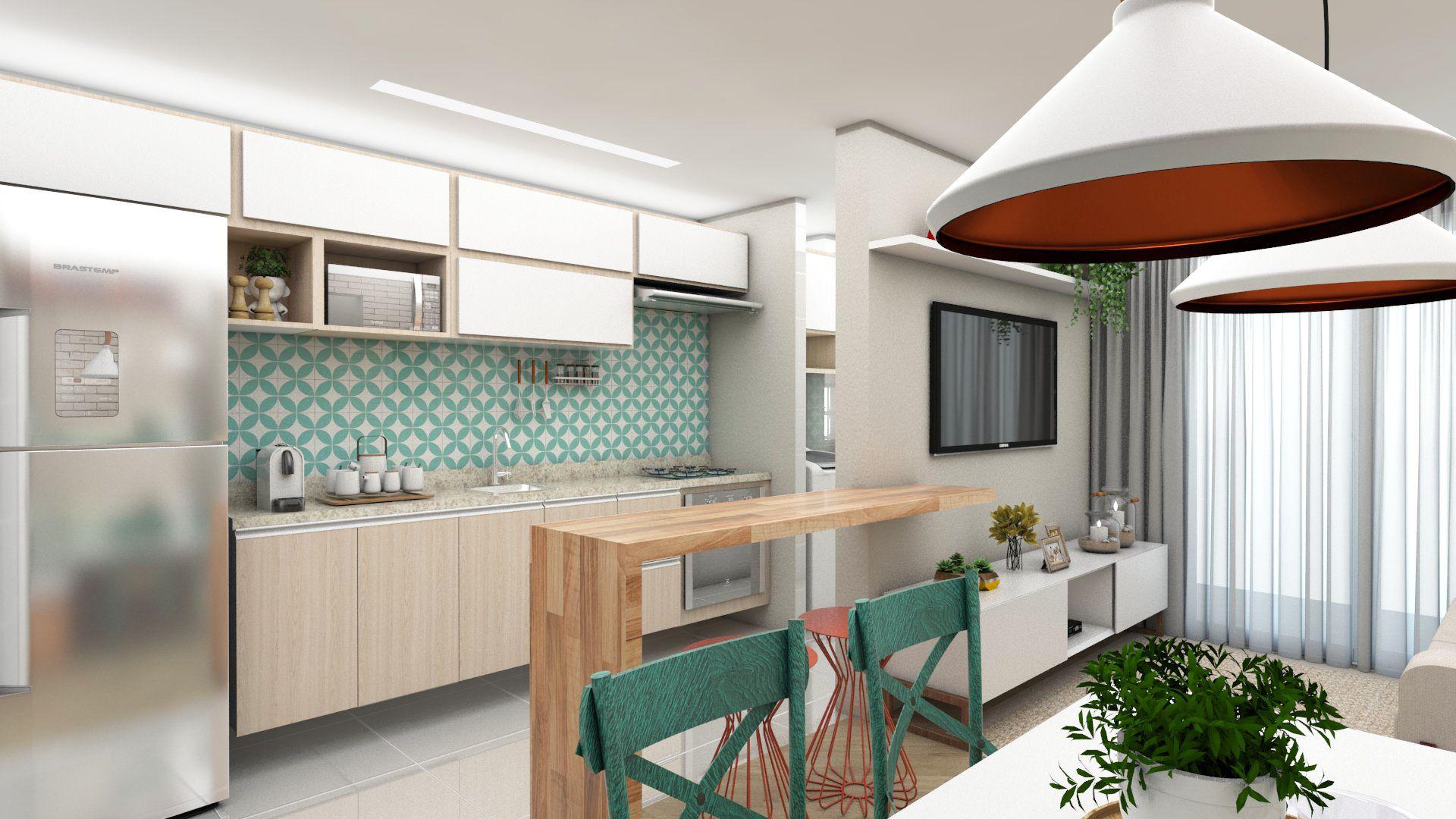 Cozinha Clean E Moderna Projeto Autoral Escrit Rio K Bastos