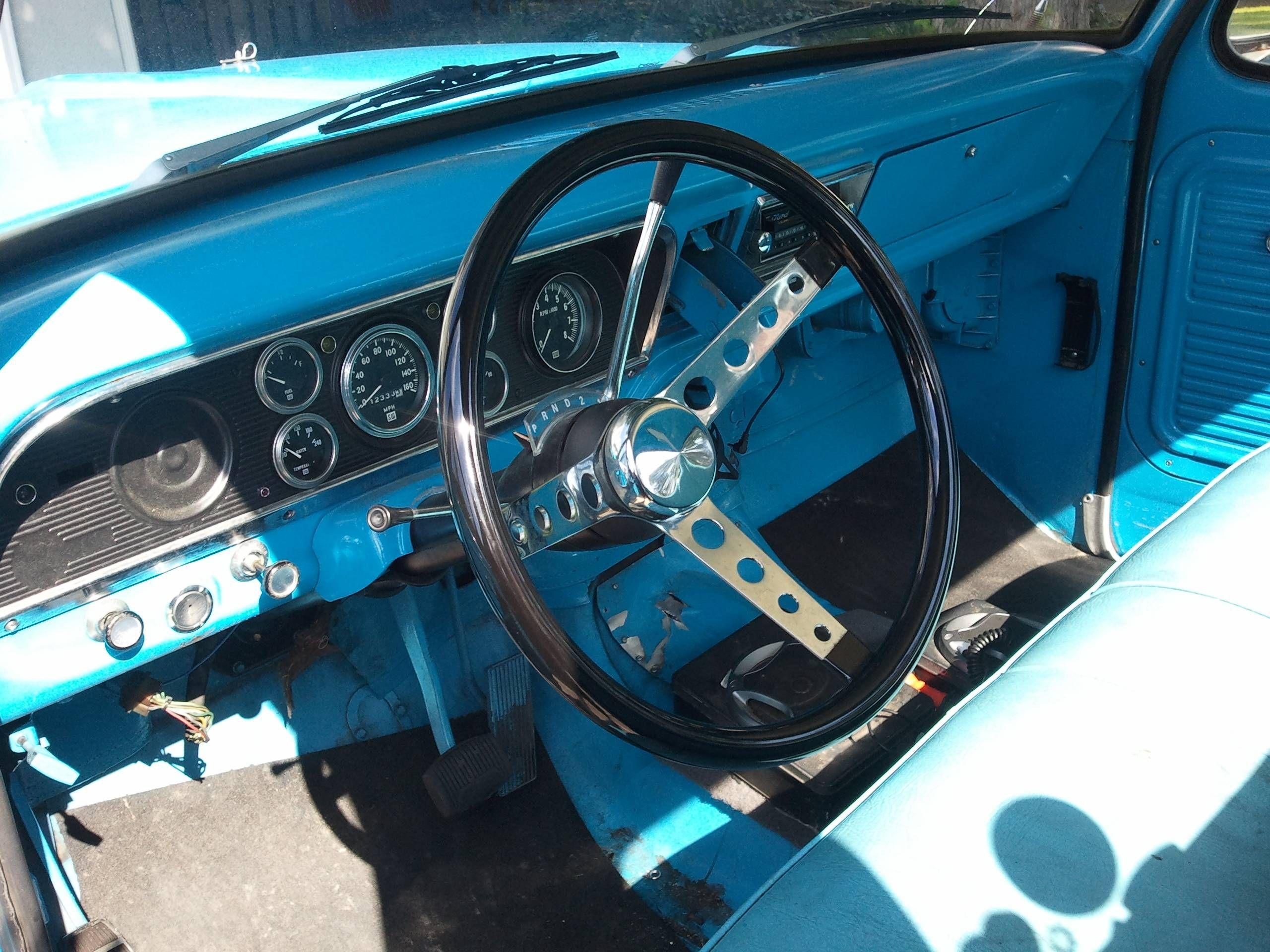 1969 F100 Metal Dash Google Search Ford F 100 Ideas Pinterest Ranger Xlt