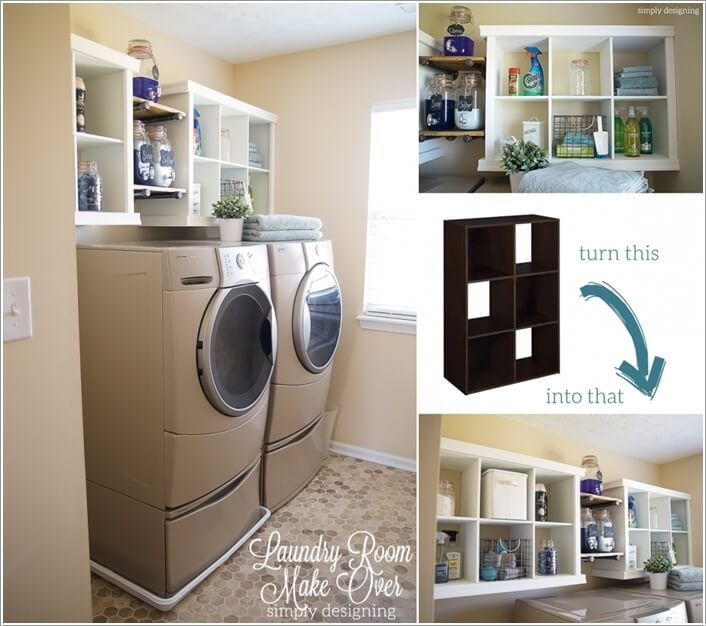 Practical Diy Projects For Laundry Room Organization