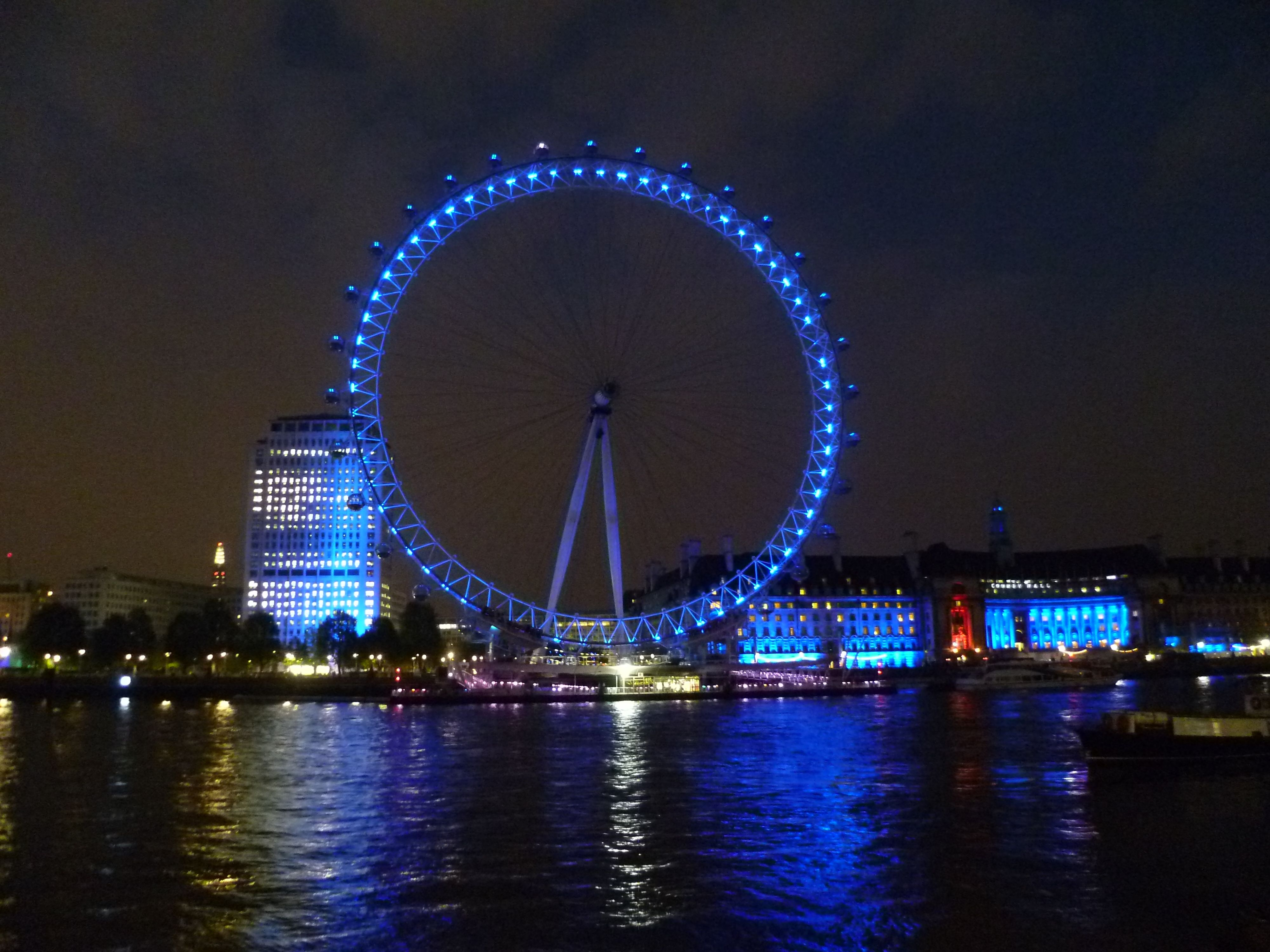 The London Eye by night