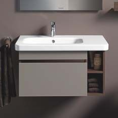 Duravit durastyle 800mm vanity unit for offset basin with - Reasonably priced bathroom vanities ...