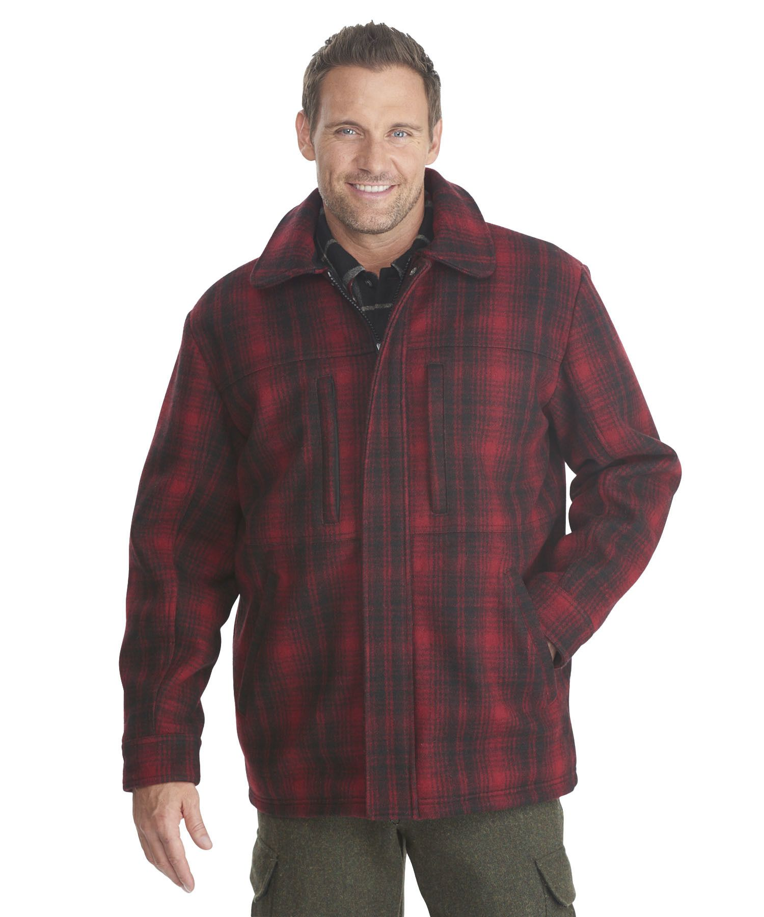 a132d4279e3 Men s Wool Hunting Coat by WOOLRICH® The Original Outdoor Clothing Company