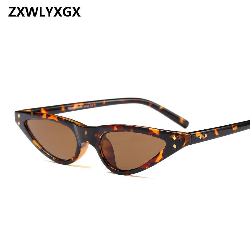 39af0829b7 ZXWLYXGX 2018 Gifts New CatEye Sunglasses Women Brand Small Triangle  Eyeglasses Vintage Stylish Sun Glasses Female UV400
