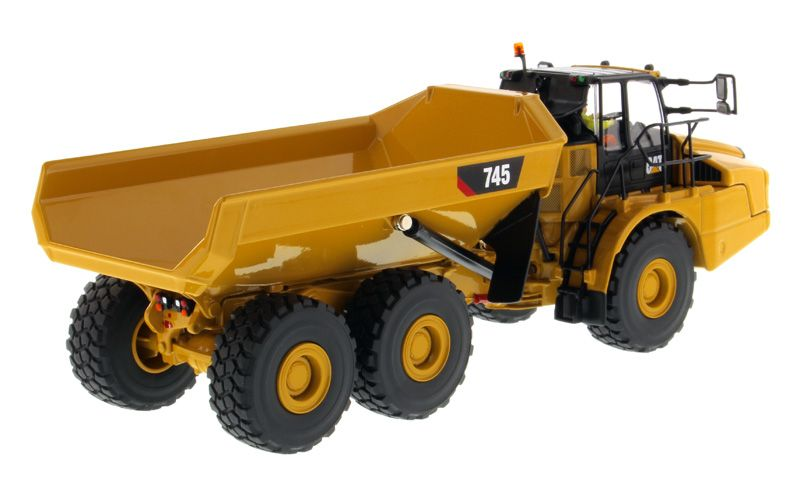 Zis 6 Roblox 1 50 Scale Caterpillar Cat 745 Articulated Truck By Diecast Masters 85528