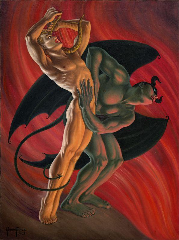 Homoerotic fantasy art opinion