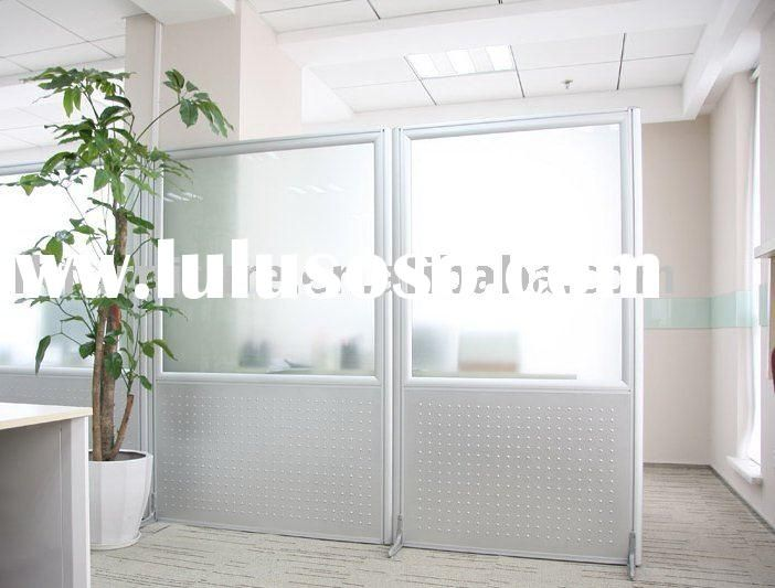 Office Wall Partitions : Flexible office portable partition wall system