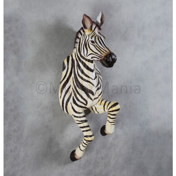 Running Zebra Wall Figure | Unusual Home Accessories | Pinterest ...