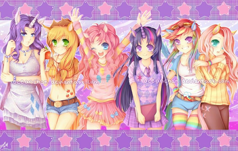 Mlp Anime Wallpaper With Images Pony Little Pony My Little Pony