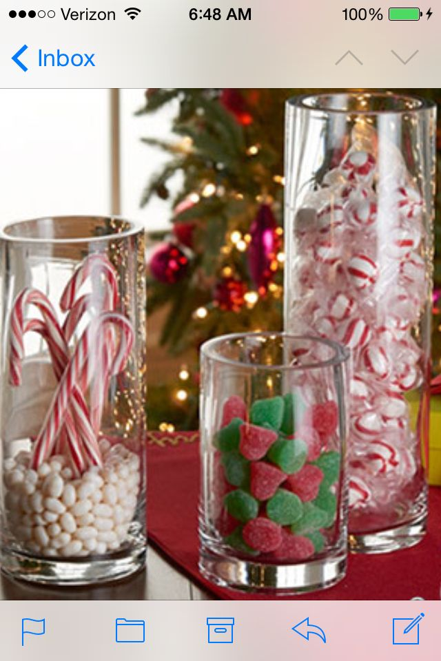 Christmas Vase Fillers Via Michaels Decorate For Christmas