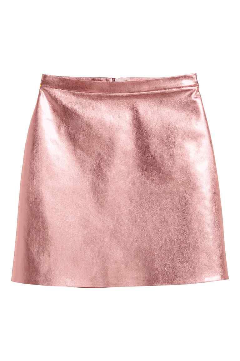 90ae2e333 Falda con superficie revestida | F/W16 Wish List | Moda faldas ...