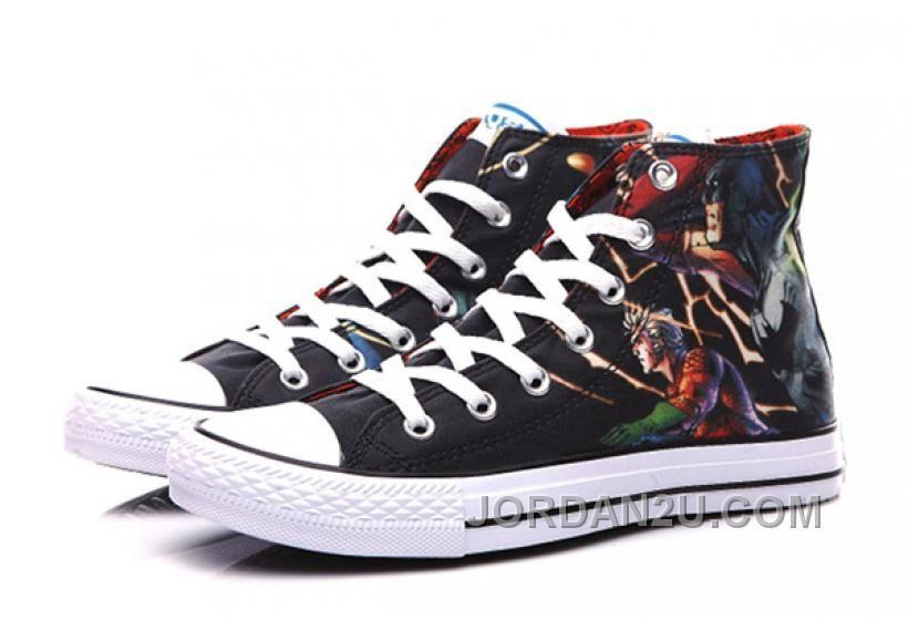 c9cdde4c2ccf CONVERSE DC Comics Justice League Chuck Taylor High Tops Sneakers ...