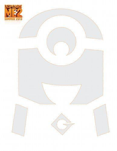 Despicable Me 2 Pumpkin Carving Templates Minion Pumpkin Stencil Minion Pumpkin Minion Pumpkin Carving