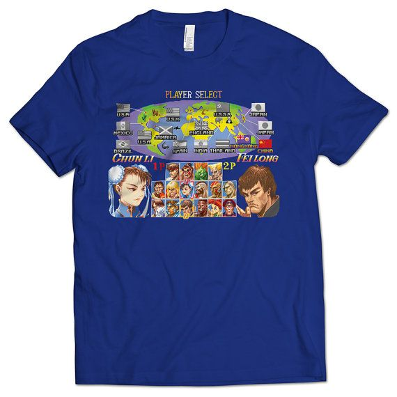 2c8b4920625 Super  StreetFighter II Select Screen Men s T-shirt