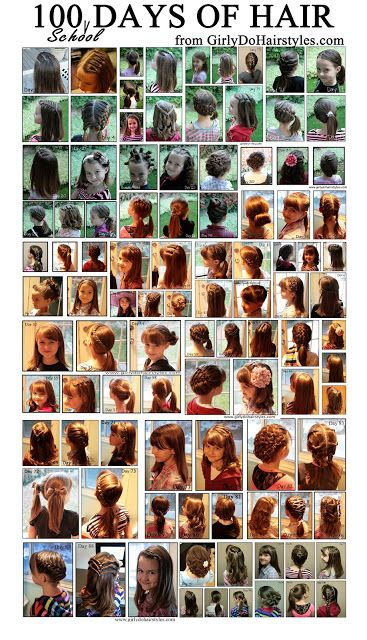 100 Different Hairstyles For School