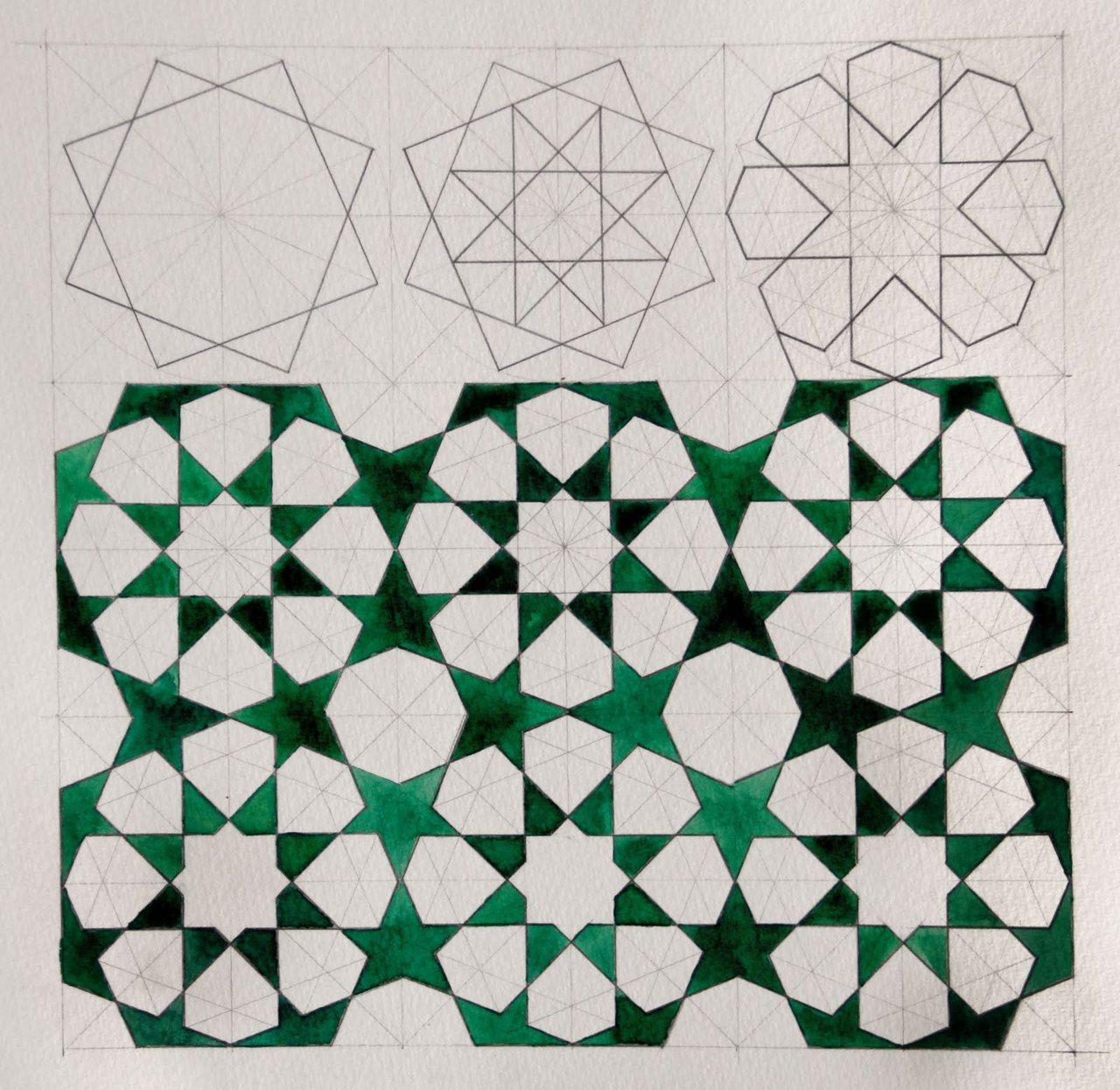 X8 Deconstructed Islamic Art Pattern Pattern Art Islamic