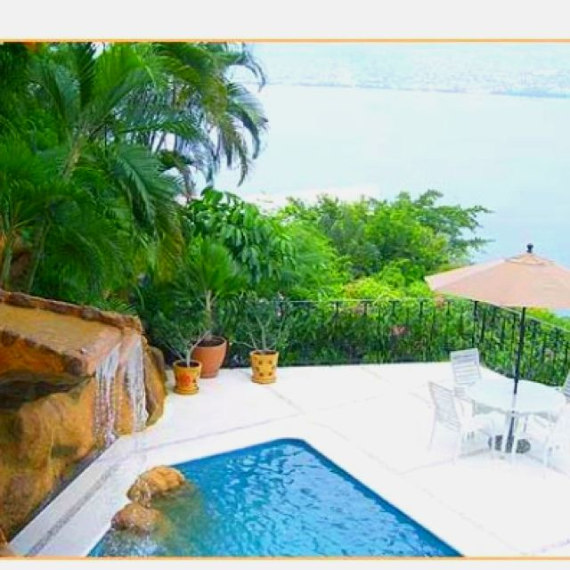Enjoy the Water Slide at Your Private Pool, at Villa Alhambra On Your Romantic Vacation in Acapulco!!