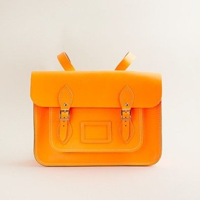 citrus saddle bag