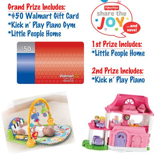 Share The Joy Fisher-Price Gift Pack & $50 Walmart GC