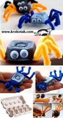 from eggs box | krokotak