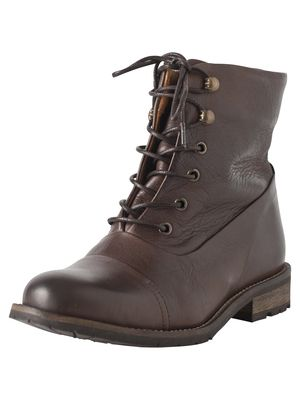 SENIDA LEATHER BOOT MOCCA from Pieces