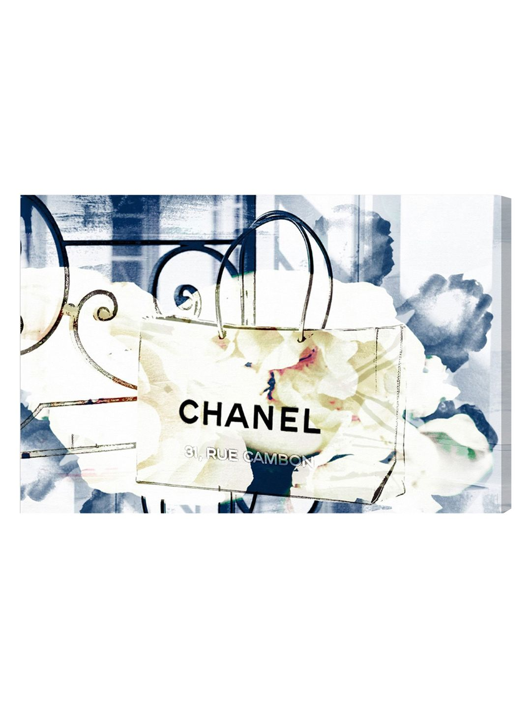 An Iconic Shopping Bag (Framed Canvas) by Oliver Gal at Gilt | Art ...
