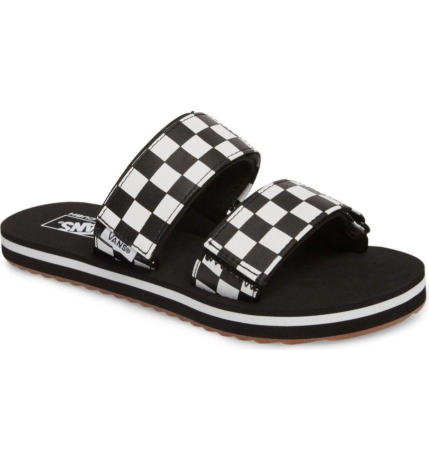 9acf137451cb34 Main Image - Vans Cayucas Slide Sandal (Women)