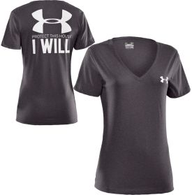 Under Armour Womens Protect This House I Will V Neck T Shirt Dicks