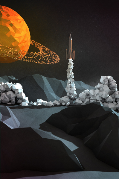 #LOWPOLY http://geoaday.com/