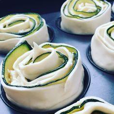 Zucchini Blätterteig Rosen – lecker-macht-süchtig