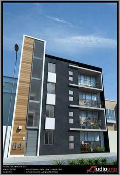 Edificio multifamiliar buscar con google architecture for Fachadas apartamentos modernos