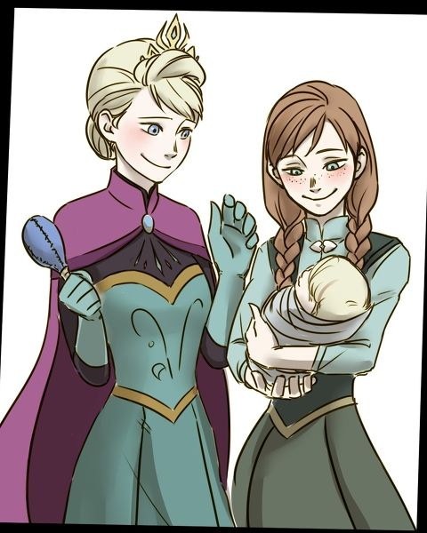 Kristoff And Anna Baby