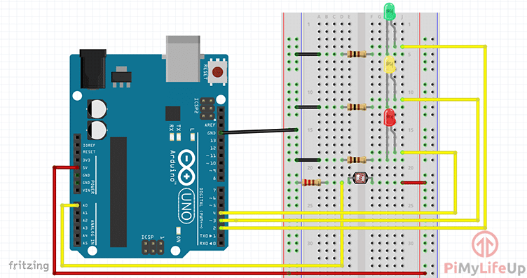 Learn How To Setup An Arduino Light Sensor Arduino Light Sensor Arduino Arduino Sensors
