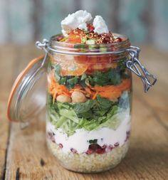 Portable Moroccan Jam Jar Salad by #JamieOliver #GoodFood