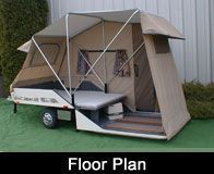 Pull Behind Motorcycle Trailer 35. Pop Up Tent ... & Pull Behind Motorcycle Trailer 35 | camping | Pinterest ...