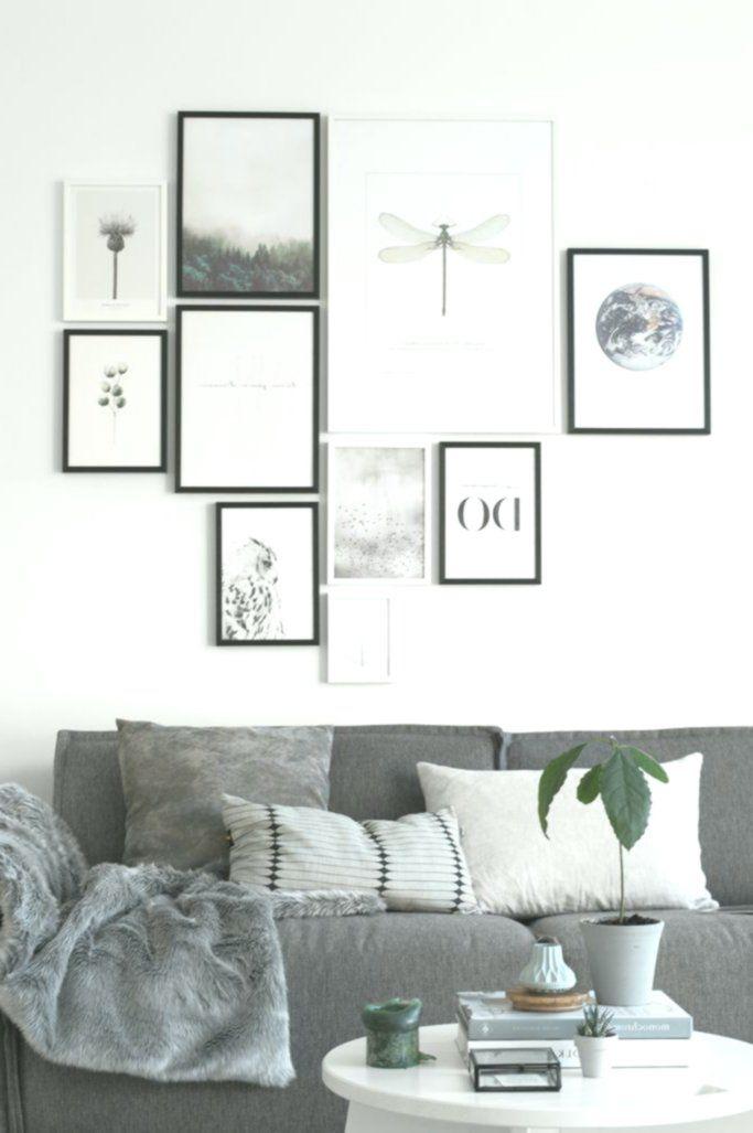 Photo of Fotowand Wohnzimmer eine moderne Galerie Wandidee. Suchen Sie nach einzigartigen…
