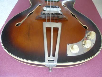 """underschöne EBass Gitarre DEFIL """"Mambo"""" 1966 Jahre"""
