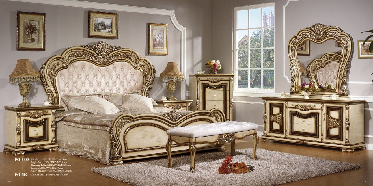 European style bedroom furniture