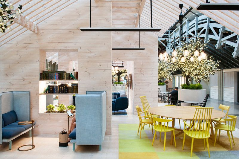 A Century Old Wharf In The Sydney Suburb Of Woolloomooloo Has Been Transformed Into Commercial InteriorsCommercial DesignSalon