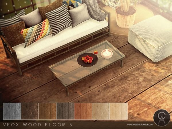 The Sims Resource: VEOX Wood Floor 5 By Pralinesims U2022 Sims 4 Downloads