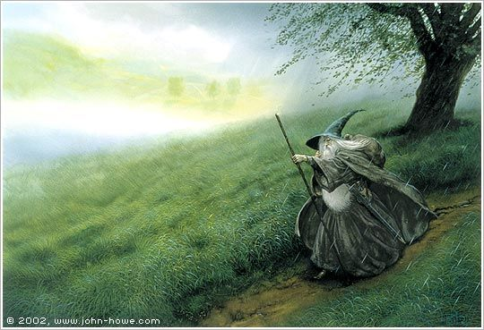 Chris Dunn Illustration Fine Art Illustrations Gandalf Lord