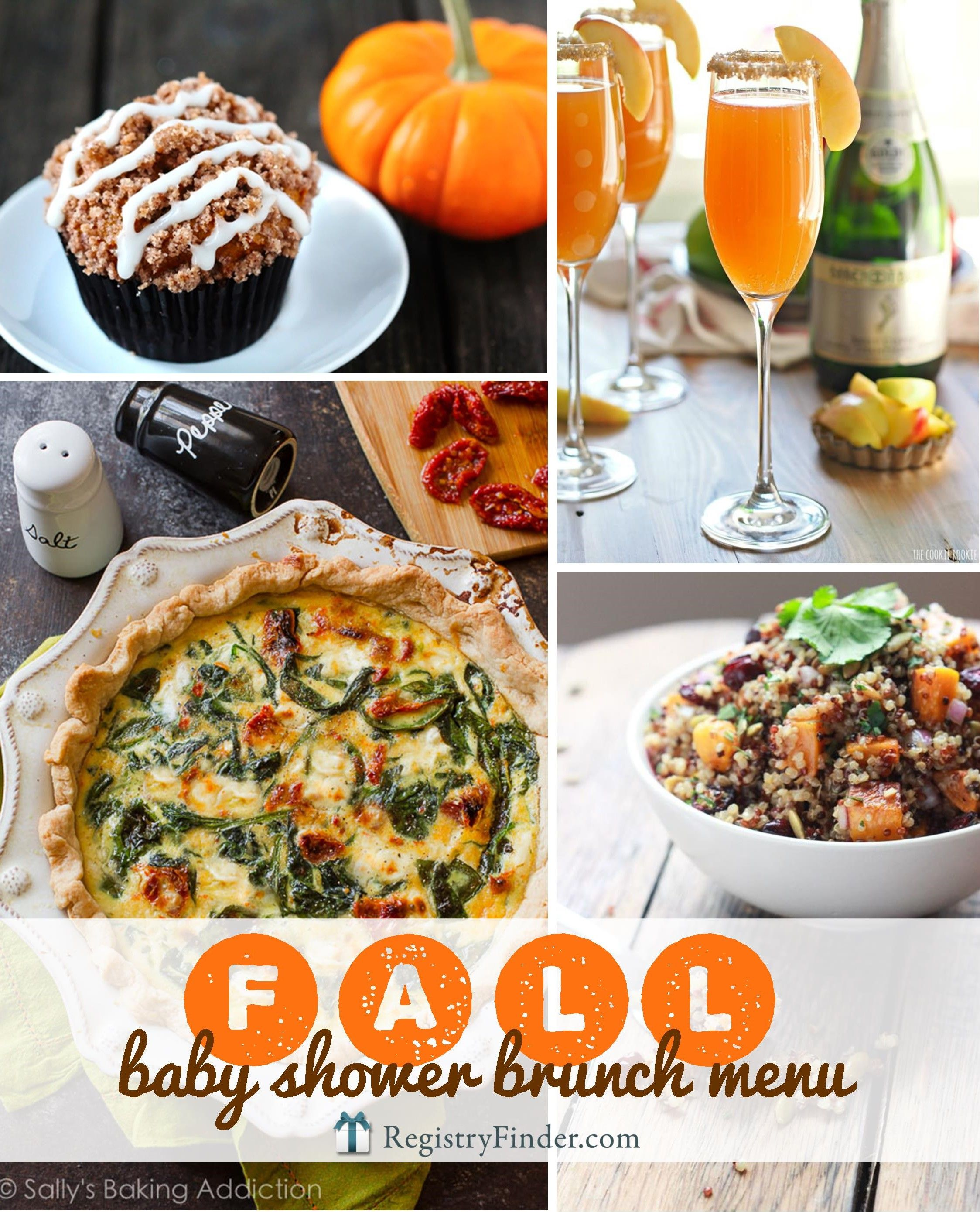 Fabulous Fall Shower Menu Fall Baby Fall Baby Showers And Baby