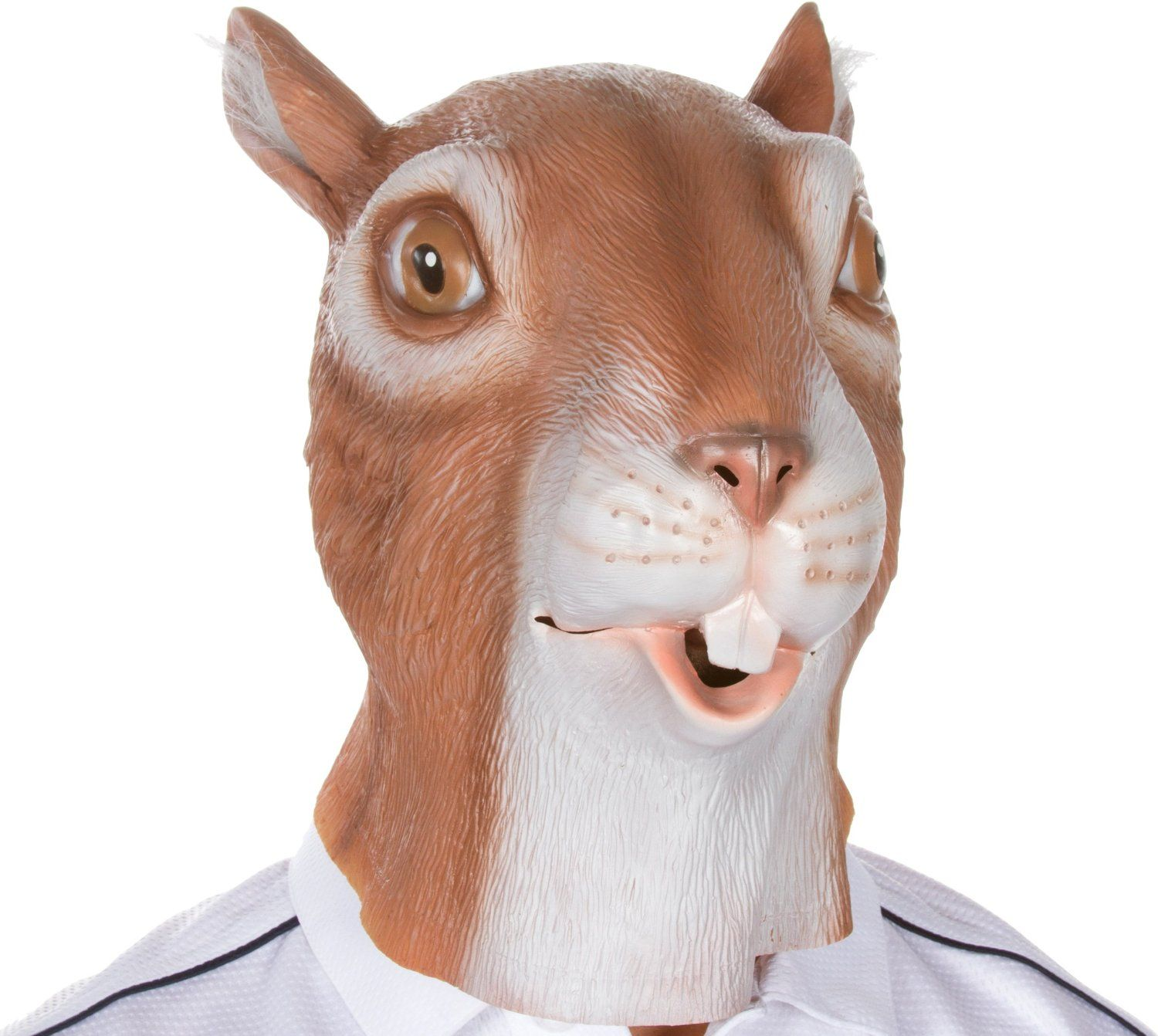 Amazon.com: Giant Animal Masks by Allures & Illusions - Squirrel ...
